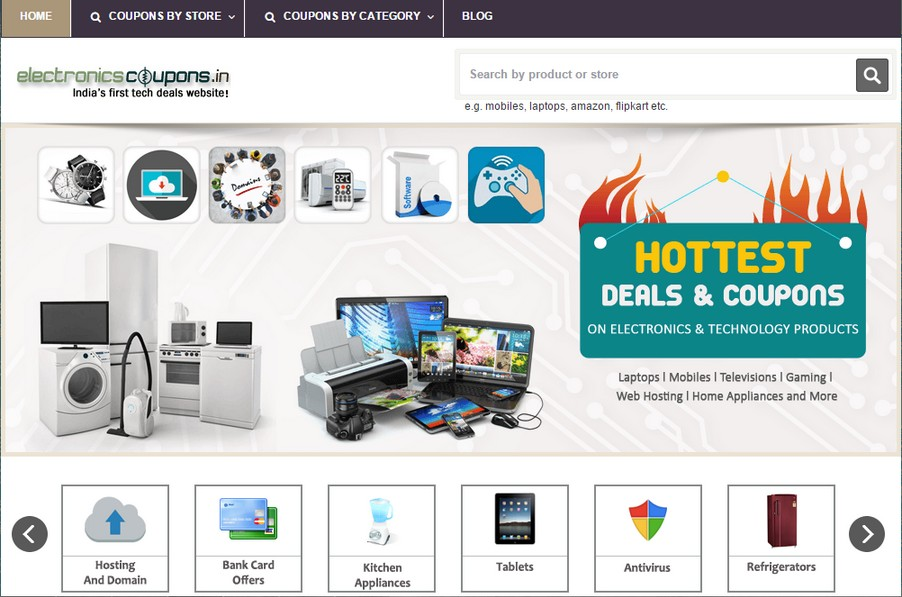 Electronicscoupons In India S First Tech Deals Website Sideprojectors Marketplace To Buy And Sell Discover Side Projects