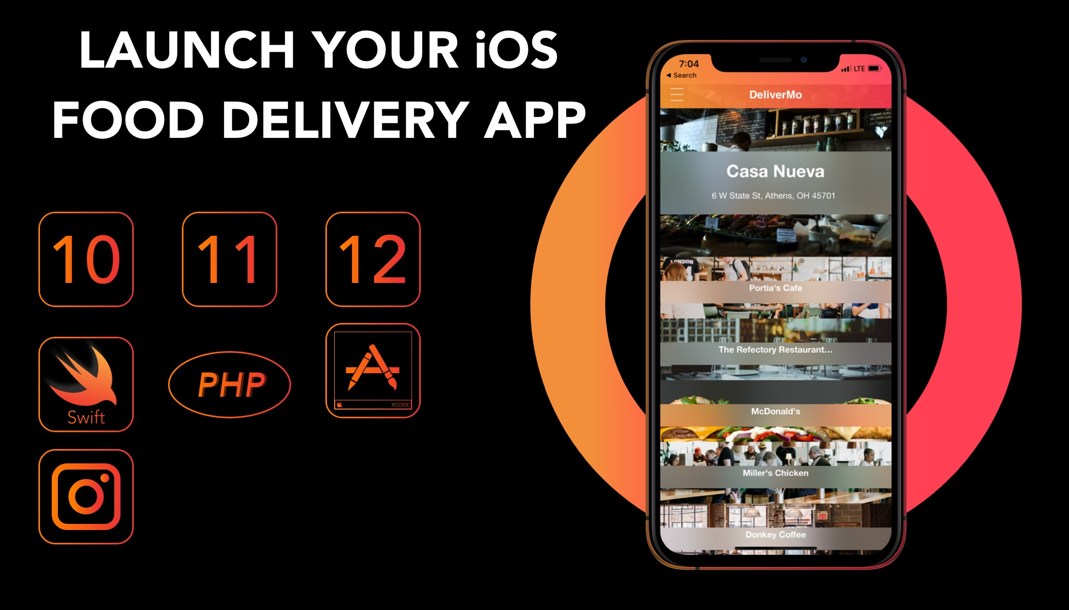 iOS Food Delivery App - Claim Your Part In The $16M USD