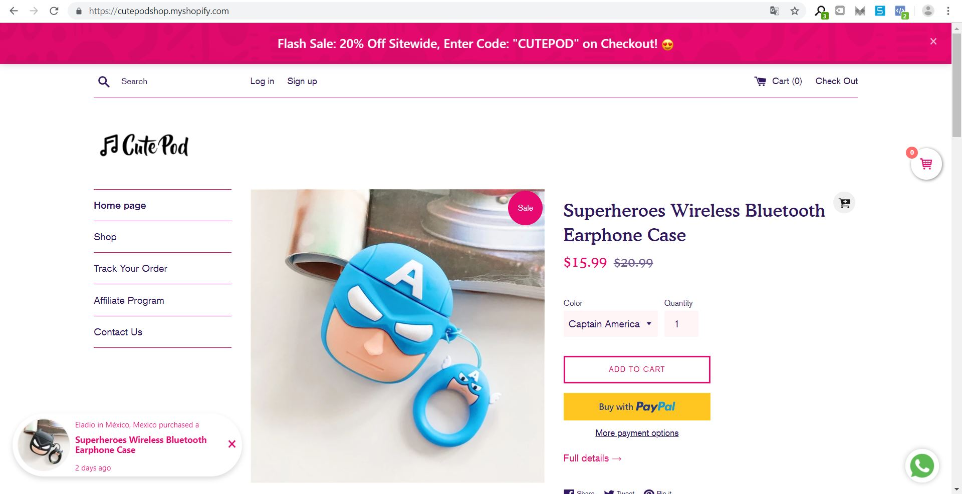 Cutepod Shop - Over 50+ Airpods' cases with original and